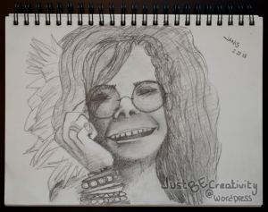 Janis. Graphite on Paper. February 21, 2013.