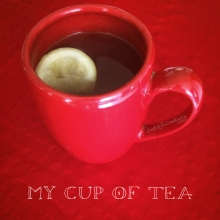 My Cup of Tea, photograph.