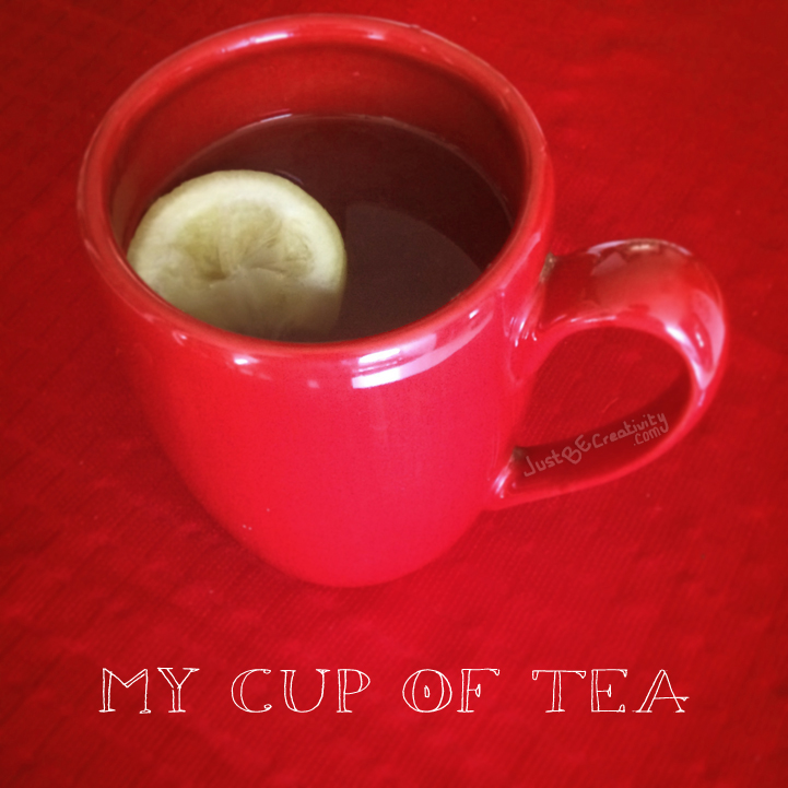 My Cup of Tea, photograph.
