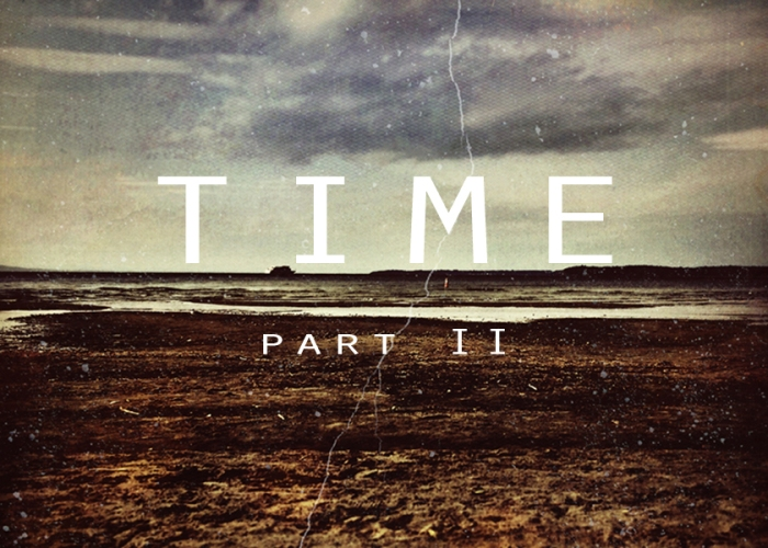 Time Part I. Digitally Manipulated Photograph. September 2014. This image accompanies a three-part short story serial.